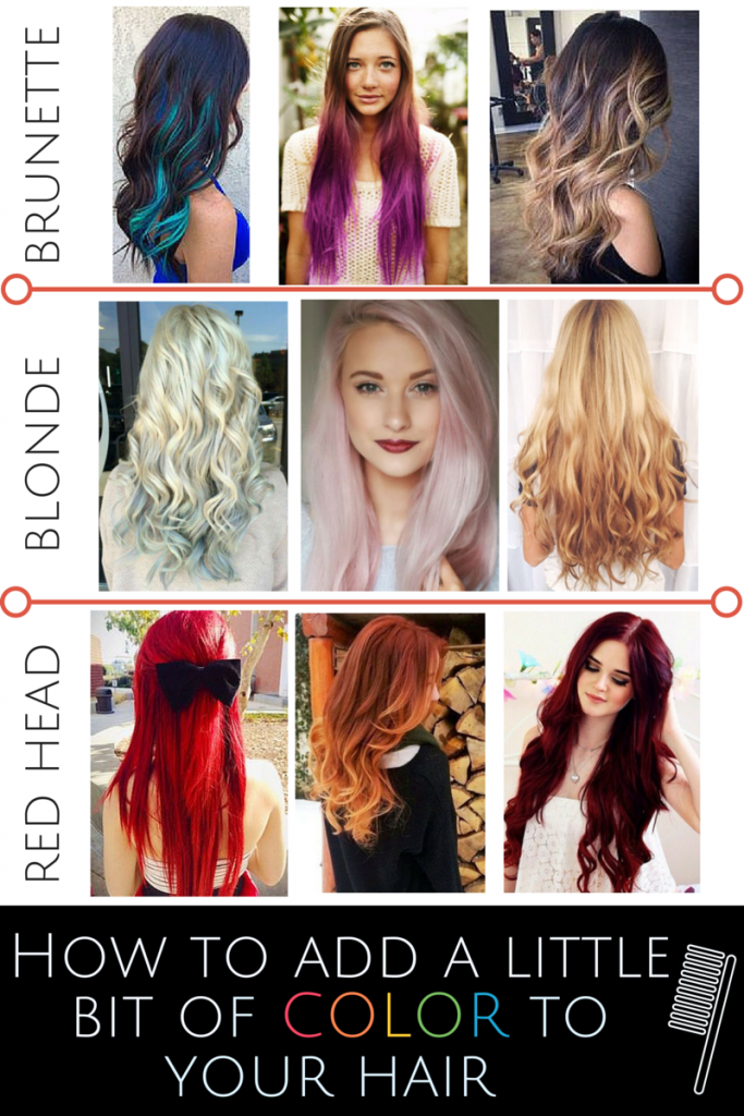 Unique Ways to Add Color to Your Hair