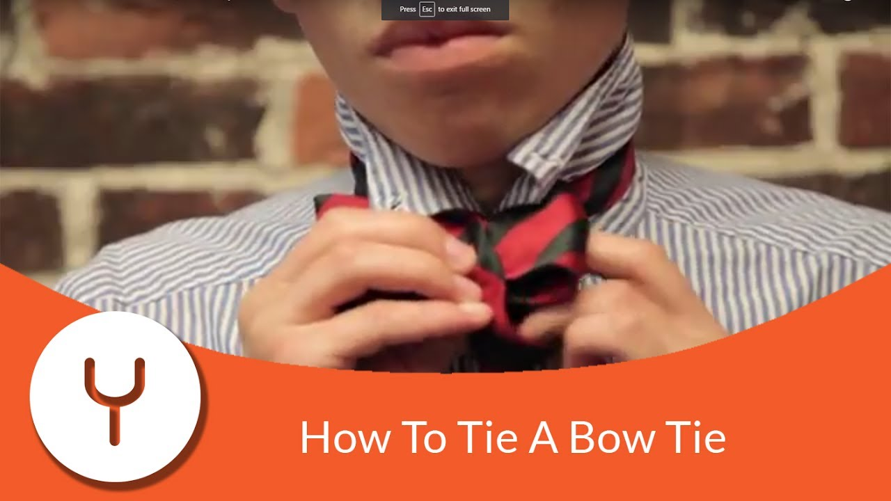 How To Tie A Bow Yougoz Tying Diagram