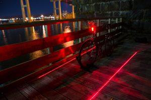 Nite Rider Sentinel on bike