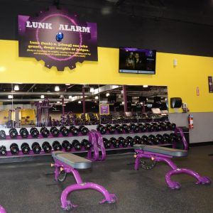 planet fitness free weights dumbbells