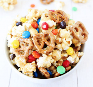 gourmet popcorn sweet and salty marshmallow popcorn