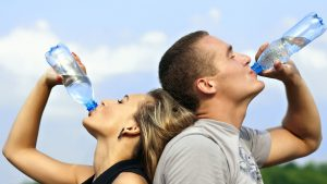 hydration sunburn treatment