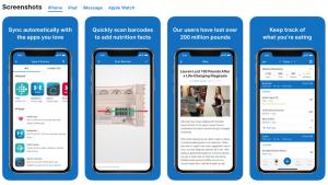 myfitnesspal fitness app screenshots