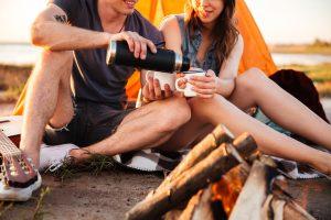 summer date ideas bonfire